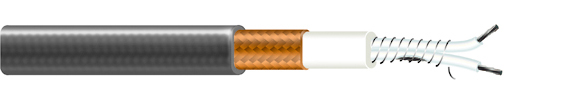 FTC – heating cable with a constant output for gutter heating